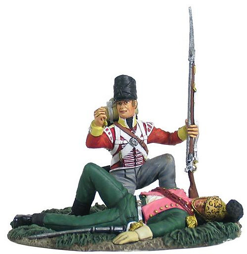 36125 - British 44th Foot Light Company Looting French Officer