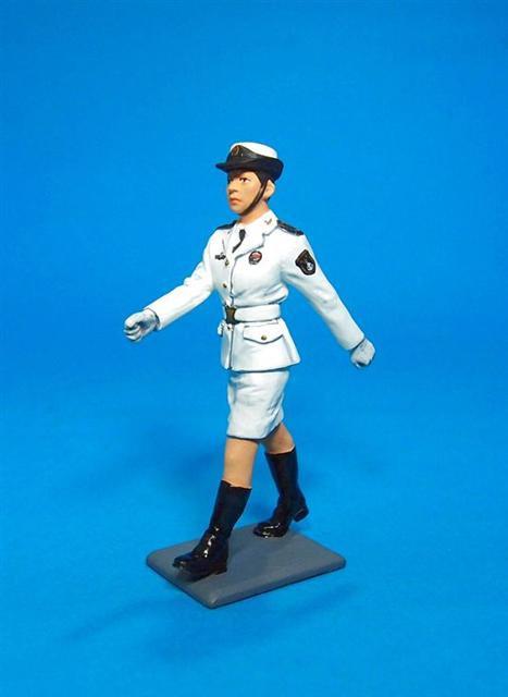 PLA-01 - PLA Navy, Female Cadet Marching