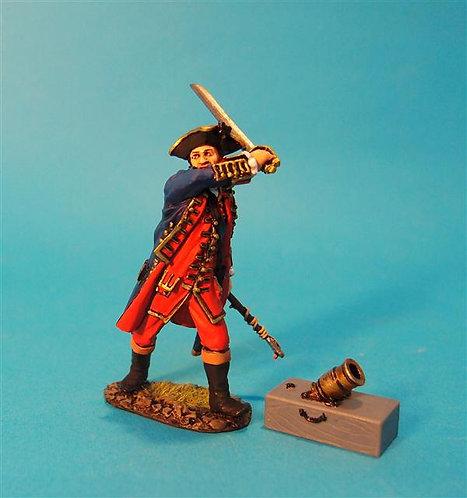 JJDCS-12 - Lieutenant Francis James Buchanan, and Light Coehorn Mortar