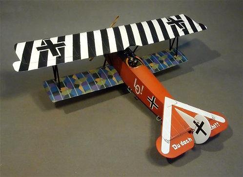 ACE-35B Fokker DVII Jasta 4, Beugneux, June 1918  Ltn. Ernst Udet  Black & White