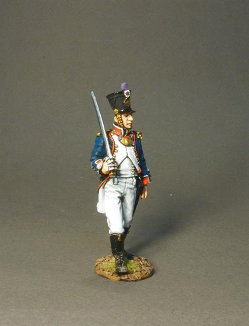 PFL-02A -4th Company Officer  French Line Infantry 1807  66th Line, 4th Company