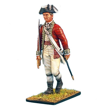 AWI022 - British 5th Foot Officer with Sword
