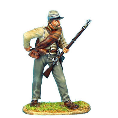 ACW050 - Confederate Infantry Standing Loading