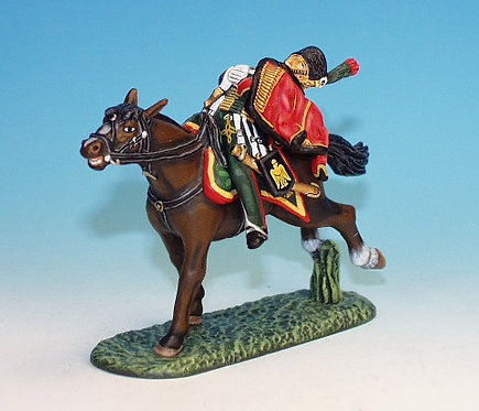 CDC.13 - Trooper, Falling From Horse, Chasseurs a Chevel