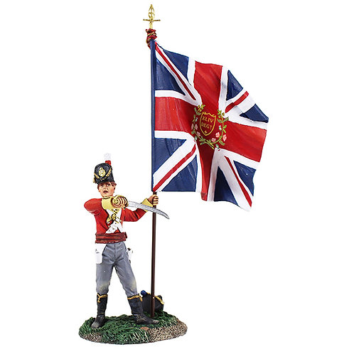 36139 - British 44th Regiment Ensign with King's Colour No.2