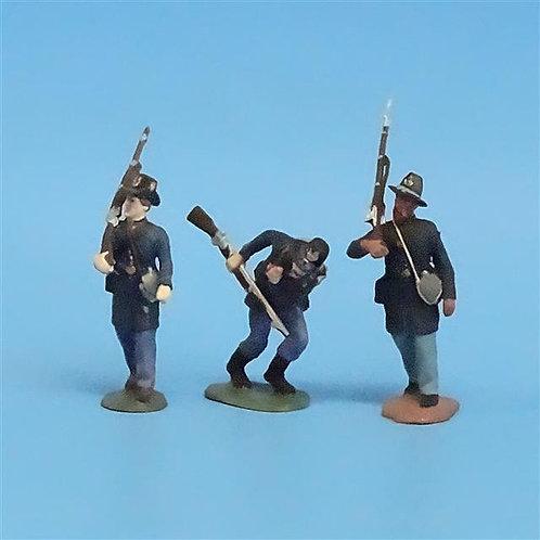 CORD-196 - Iron Brigade (3 Figures) - Manufacturer Unknown - 54mm Metal - No Box