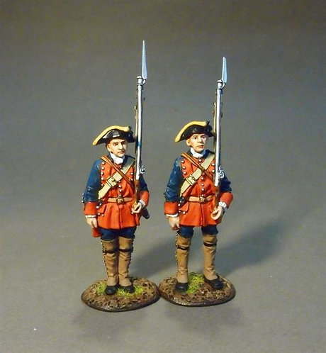 RRBNJ-02 - New Jersey Provincial Regiment, Line Infantry at Attention
