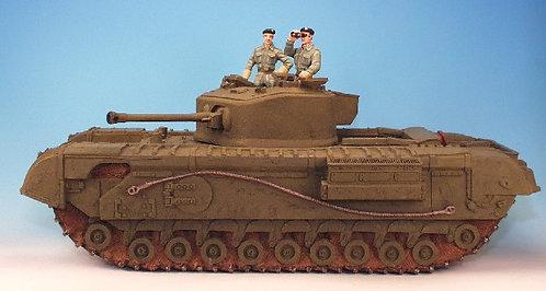 WBT.1 - Churchill Infantry Tank, with 2 Crew Men
