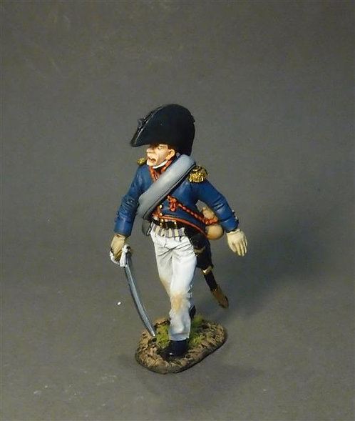 PFL-02B -3rd Company Officer  French Line Infantry 1807  66th Line, 3rd Company