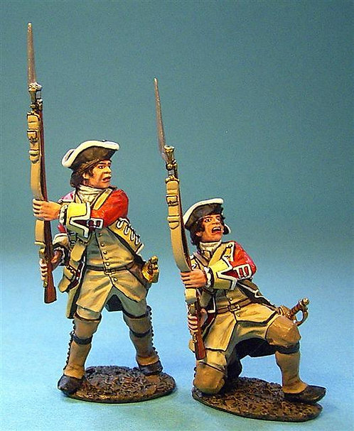 BM-23 44th Regiment of Foot, British Line Infantry At The Ready (2pcs) (RETIRED)