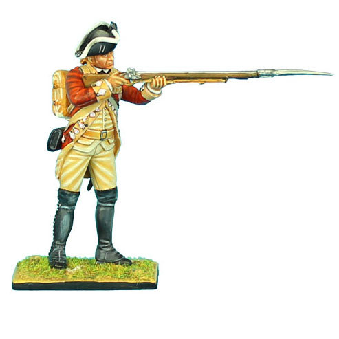 AWI045 - British 22nd Foot Standing Firing - Head Variant 1