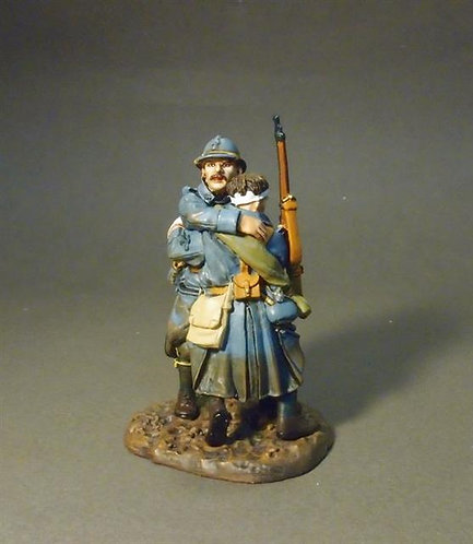 """GWF-31 - 123e Regiment of Infantry  2 PCDF """"Casualties of War""""  French Infantry"""