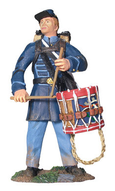 17931 - Union Infantry Drummer in Frock Coat