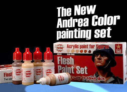 ACS-001 - Flesh Paint Set - Andrea Color