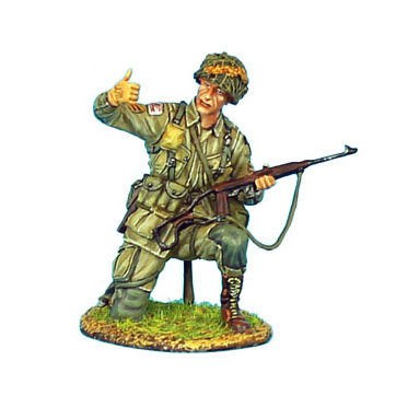 NOR002 - US 101st Airborne Sergeant with M1A1 Carbine