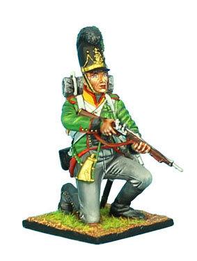 NAP442 - Bavarian Tirailleur Kneeling - 6th Light Infantry Battalion La Roche