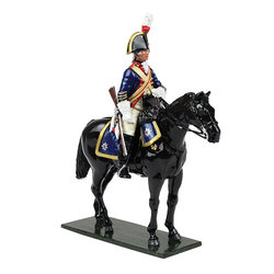 47047 - British Horse Guards (Blues) Trooper, 1795