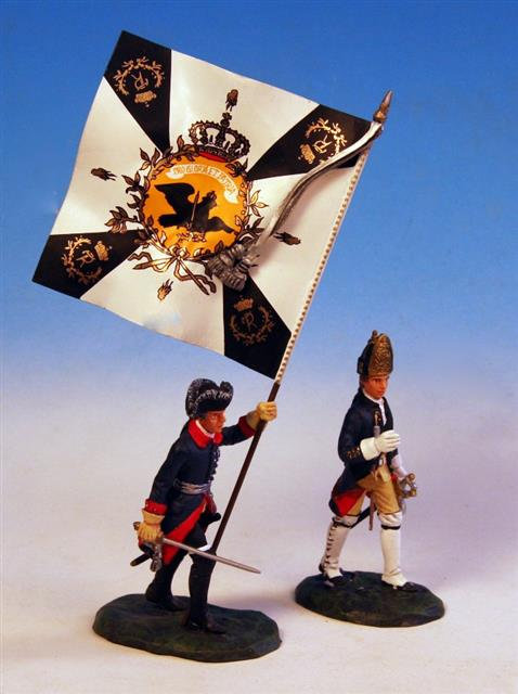 PUP.1 - Frederick the Great, with Officer, at Zorndorf