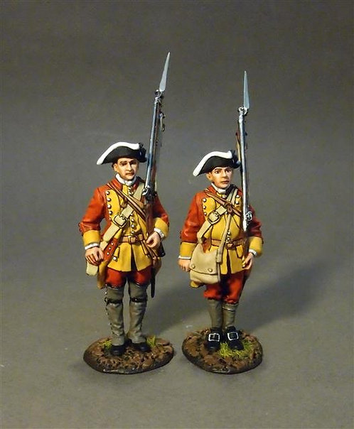 RRBC-02 - Connecticut Provincial Regiment of Foot, Line Infantry at Attention