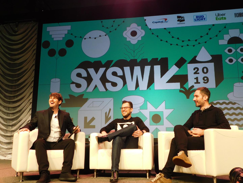 SXSW Marketing Venture Josh Constine Mike Krieger Kevin Systrom.JPG