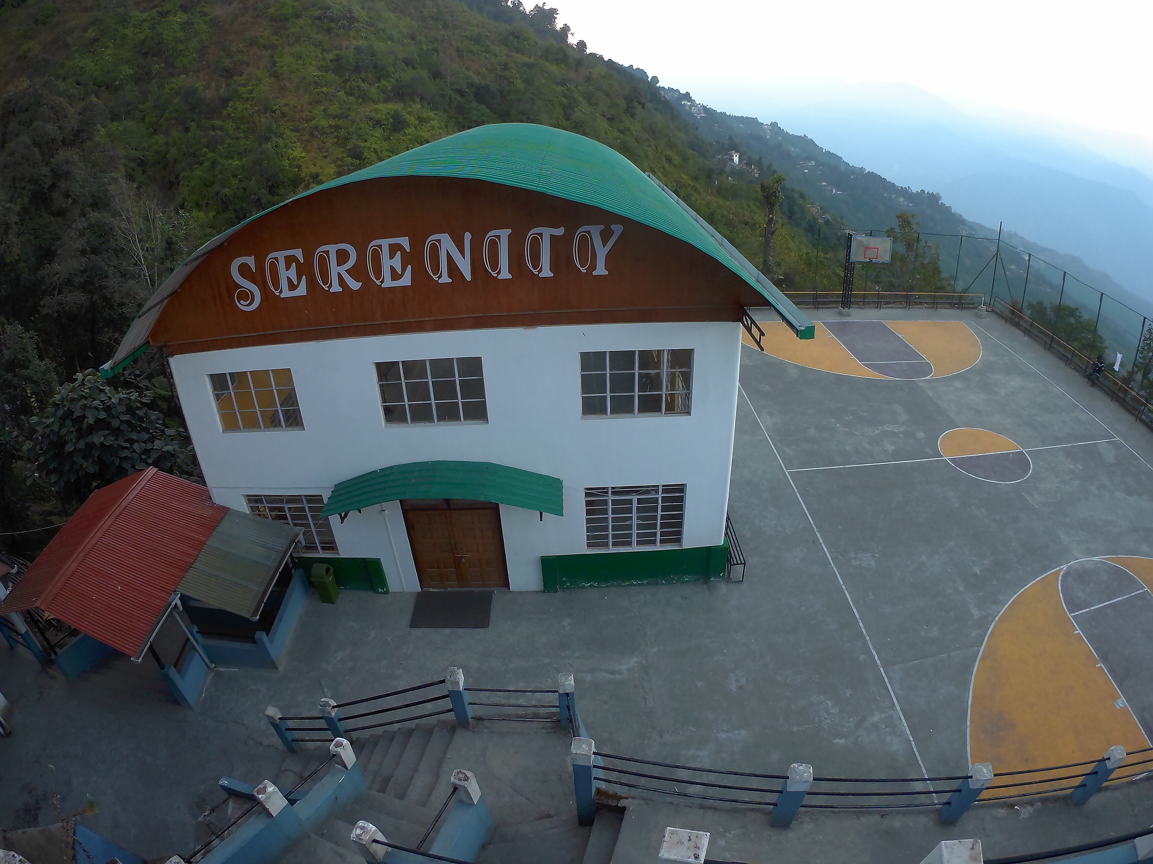 Serenity & Basketball Court