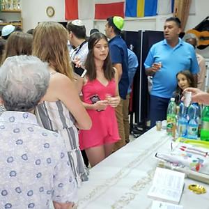 ביקור צעירים מניו ג'ירסי בקהילה