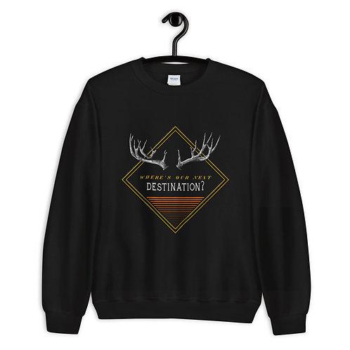 """Sweatshirt """"Next Destination"""""""