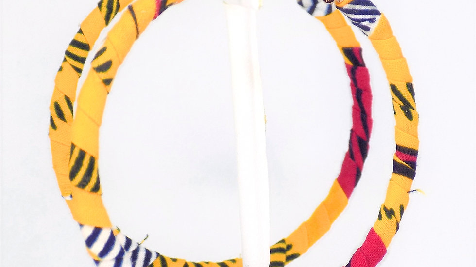 Flat Hoop Earring-Small
