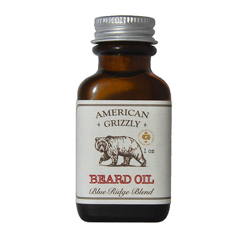 American Grizzly Beard Oil