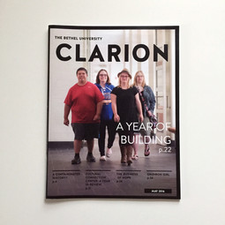 The Clarion Cover Design