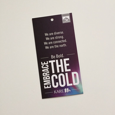 Embrace The Cold Hangtags