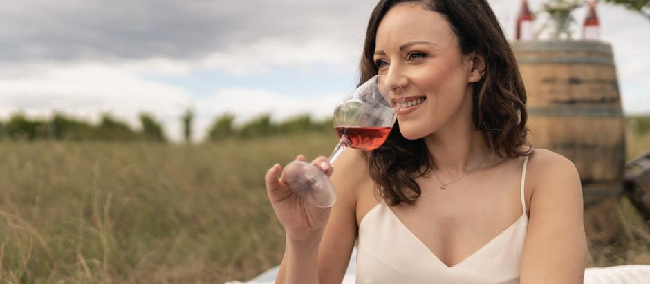 Jasmin Wagner und ihr neuer Rosé