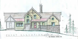 Custom Mountain Home, Fairview, North Carolina