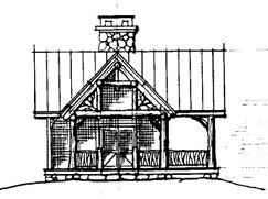 Treehouse Pavillion, Lake James