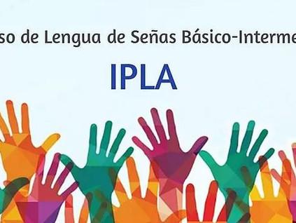 Últimos cupos para el curso de Lengua de Señas Básico – Intermedio en el IPLA