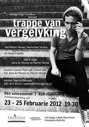 Trappe van Vergelyking poster - Martin Venter