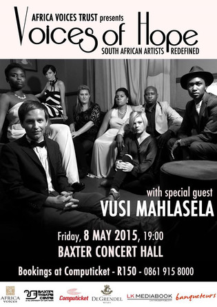 Voices of Hope concert - Martin Venter
