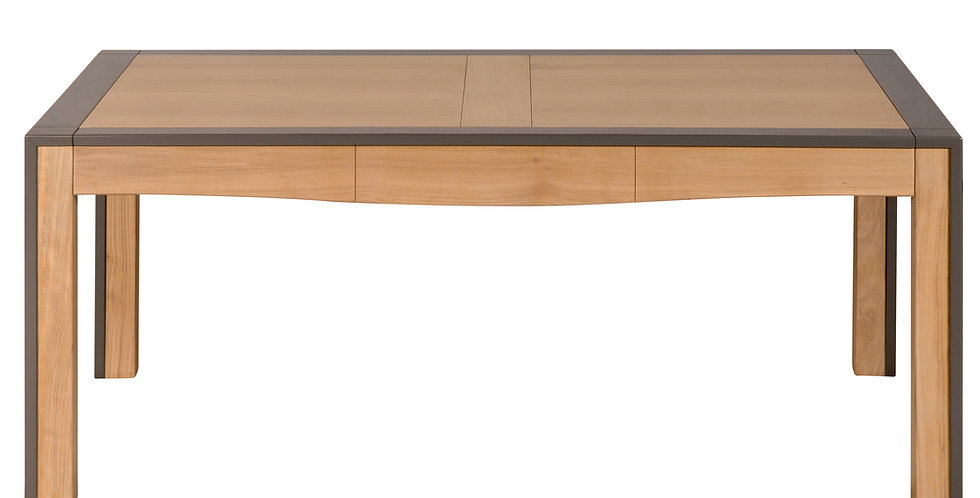 Table rectangulaire merisier - collection STELLA