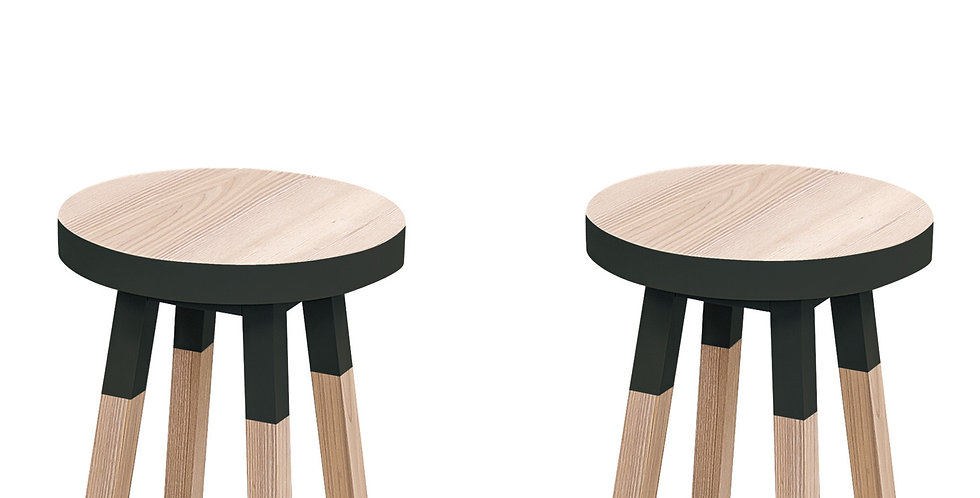 Round stool - EGEE collection