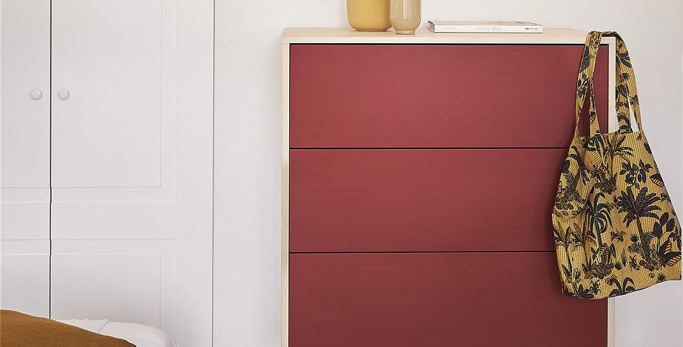 Commode 3 tiroirs - concept KUBE