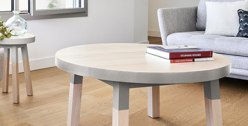 Table basse ronde - collection EGEE