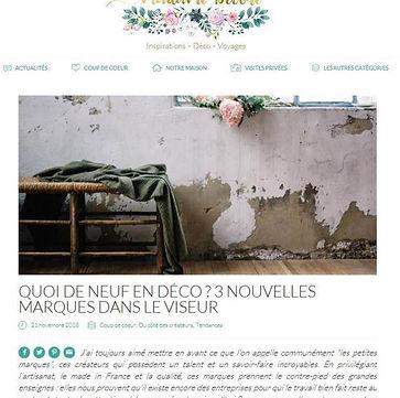 présentation collection EGEE MON PETIT MEUBLE FRANCAIS