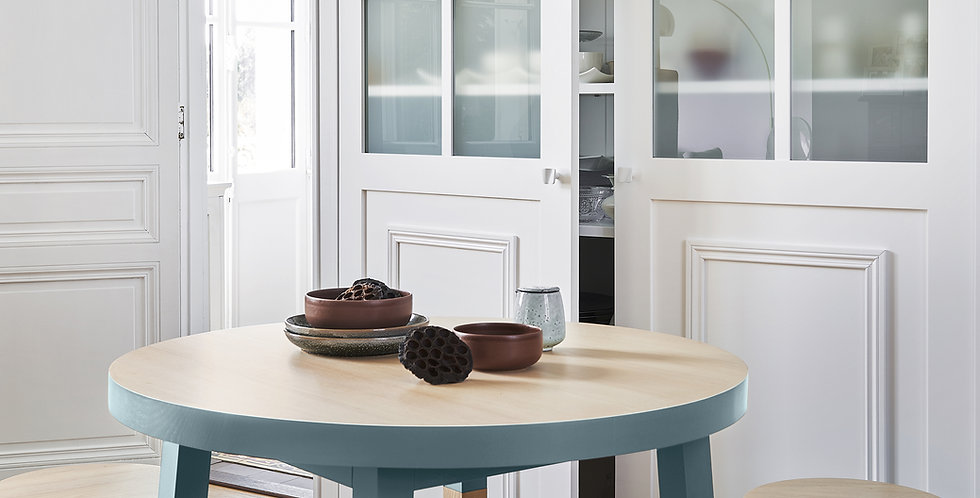 Table repas ronde - collection EGEE