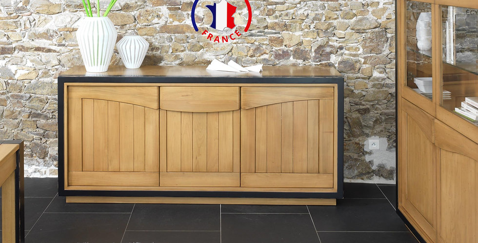 Buffet merisier 3 portes - collection STELLA
