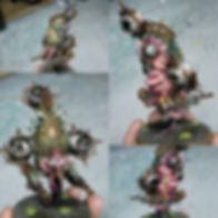 Warhammer 40k, Painting Tutorials, Dark Imperium, Blight Drone