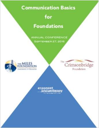 Communications Basics for Foundations