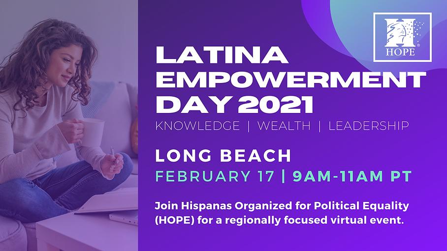 2020 Latina empowerment day - Banner (1)