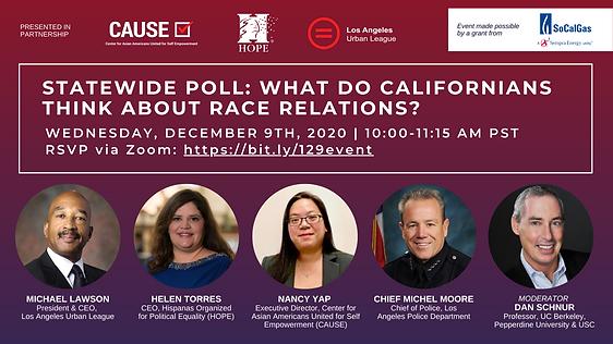 California Community Poll Briefing FB Ev