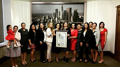 Councilwoman Nury Martinez proclaimed Ma