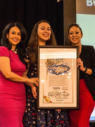 Proclamations Presentation by City COuncil President Nury Martinez